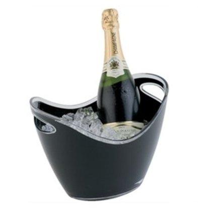 XXLselect Champagnerschale schwarz klein