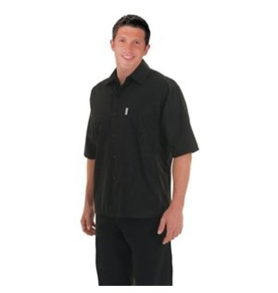 XXLselect Chef Works Coolvent Chef Shirt schwarz