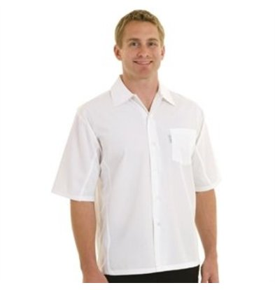 XXLselect Chef Works Coolvent Chef Shirt weiß