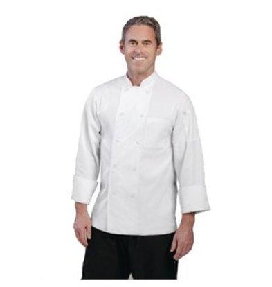 XXLselect Chef Works Kochjacke Le Mans langarm weiß L