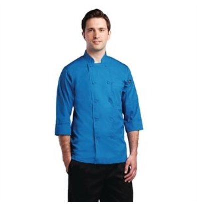 XXLselect Colour by Chef Works Kochjacke blau L
