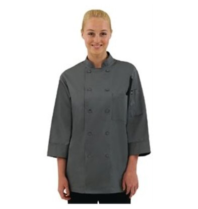 XXLselect Colour by Chef Works Kochjacke grau L