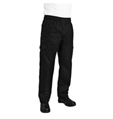 XXLselect Chef Works Cargohose Slim Fit schwarz L