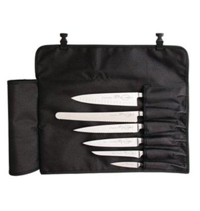 XXLselect Dick schwarze Stoffrolltasche 50(L) x 43(B)cm