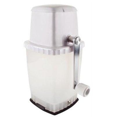 XXLselect Eiscrusher mit Vakuumstand weiß