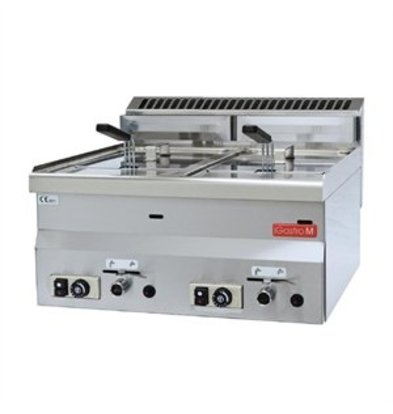 XXLselect Gastro-M Fritteuse Gas 60/60 FRG