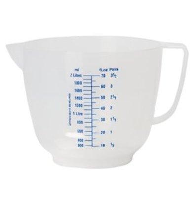 XXLselect Geprägter Messbecher 2 Liter