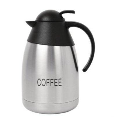 XXLselect Isolierkanne aus Edelstahl 1,5Ltr COFFEE