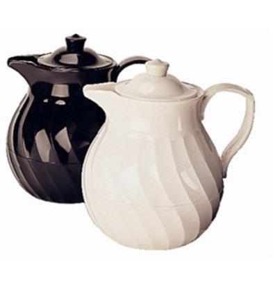XXLselect Kinox isolierte Teekanne 1 Liter weiß
