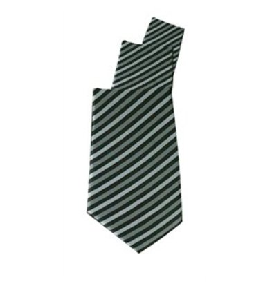 Chef Works Krawatte grau gestreift