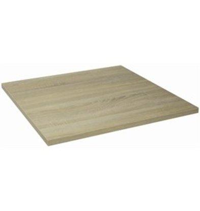 Bolero Lamidur 600 Tischplatte 60x60cm Eiche