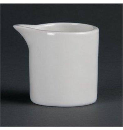 XXLselect Olympia Whiteware Milchkännchen 6cl