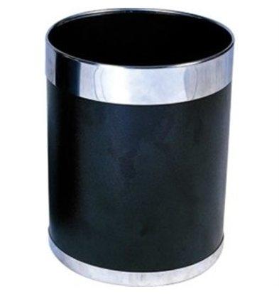 XXLselect Papierkorb schwarz
