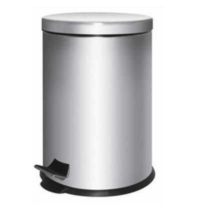 XXLselect Pedaleimer Edelstahl 5 Liter