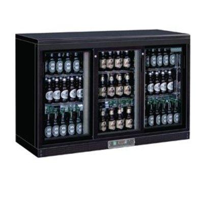XXLselect Polar Bar Displaykühlschrank 3 Schiebetüren