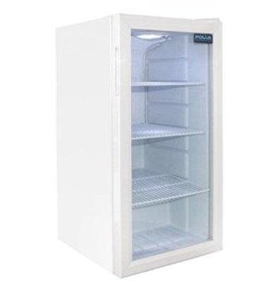 XXLselect Polar Displaykühlschrank Tischmodell 88 Liter