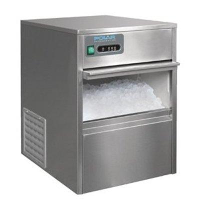 XXLselect Polar Eiswürfelmaschine 20kg