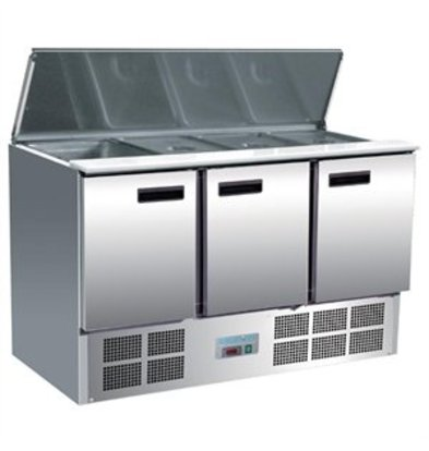 XXLselect Polar gekühlte Saladette 368 Liter