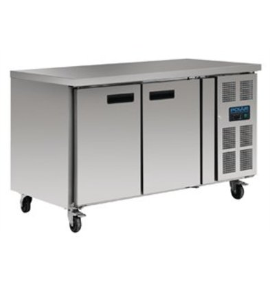 XXLselect Polar Kühltisch 282 Liter 2-türig