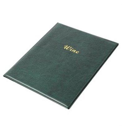 XXLselect PVC Weinkartenhalter A4 grün