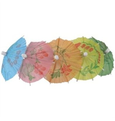XXLselect Schirme Farben sortiert 17cm
