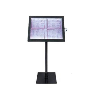 XXLselect Securit LED Anzeigentafel schwarz