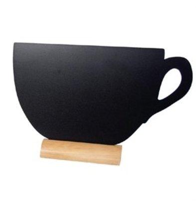 XXLselect Securit Mini-Kreidetafel Tasse