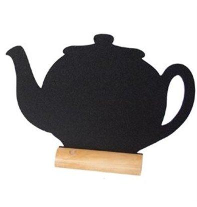 XXLselect Securit Mini-Kreidetafel Teekanne