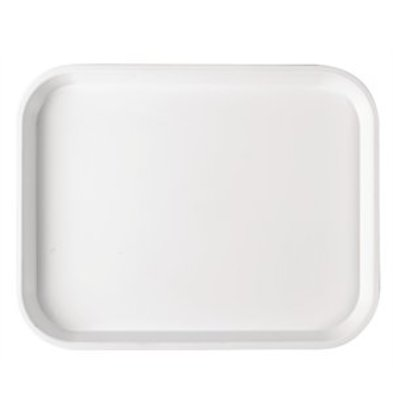 XXLselect Serviertablett Polysterol weiß 40x30cm