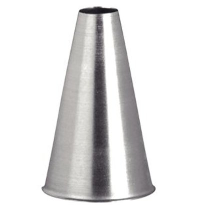 XXLselect Spritztülle aus Edelstahl glatt 10mm
