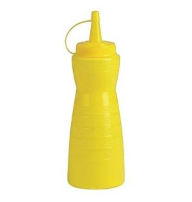 XXLselect Vogue Quetschflasche mit Kappe gelb