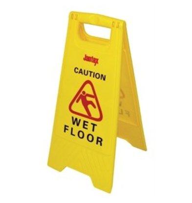 "Jantex Warnaufsteller ""Wet floor"""