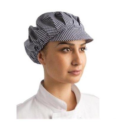 XXLselect Whites Damen Schildmütze blau weiß kleinkariert