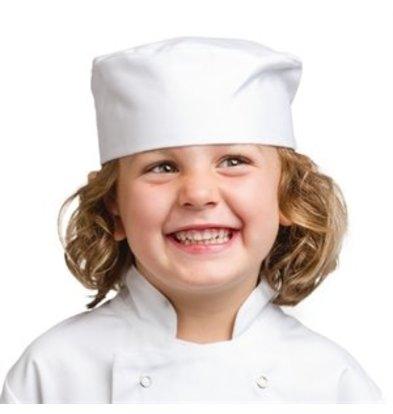 XXLselect Whites Kinder Kochkappe weiß S