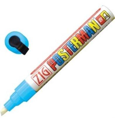 XXLselect Zig Posterman wetterbeständiger Stift hellblau 6mm