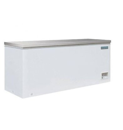 XXLselect Tiefkühltruhe mit Edalstahldeckel | 523 Liter | 688X1995X845(H)mm