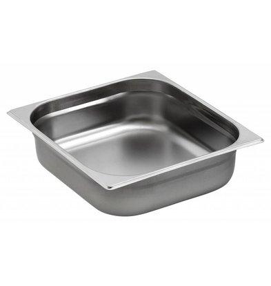 Saro Gastronorm Behälter Edelstahl GN 2/3 T40