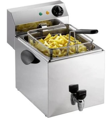 Saro Fritteuse mit Ablasshahn - 8 Liter