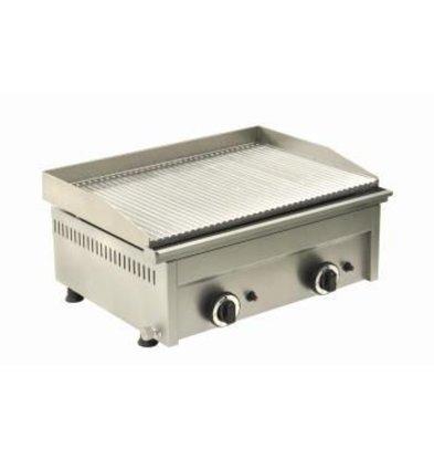 Saro Gas-Grillplatte Modell FRY TOP 600 GR