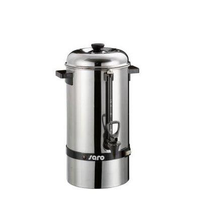 Saro Edehlstahl Perkolator - Kaffeemaschine | 48 Tassen - 6,8 liter