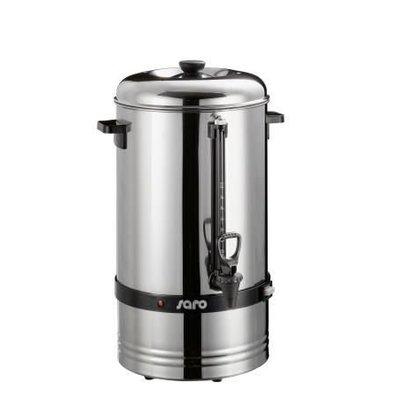 Saro Perkolator   max. 78 Tassen - 10 liter - Edelstahl