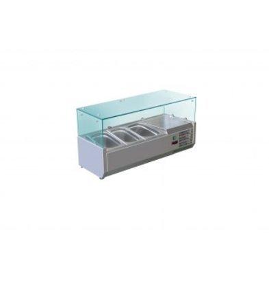 Saro Aufsatzkühlvitrine Modell METTE VRX 955