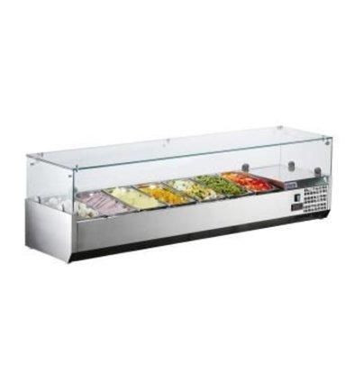 Saro Aufsatzkühlvitrine VRX 1600/330