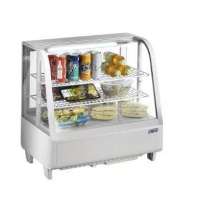 Saro Tisch-Kühlvitrine 100 liter WEISS