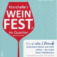 Weinfest im Quartier Mauernstraße