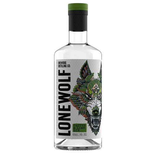 LoneWolf Cactus & Lime Gin 40 %