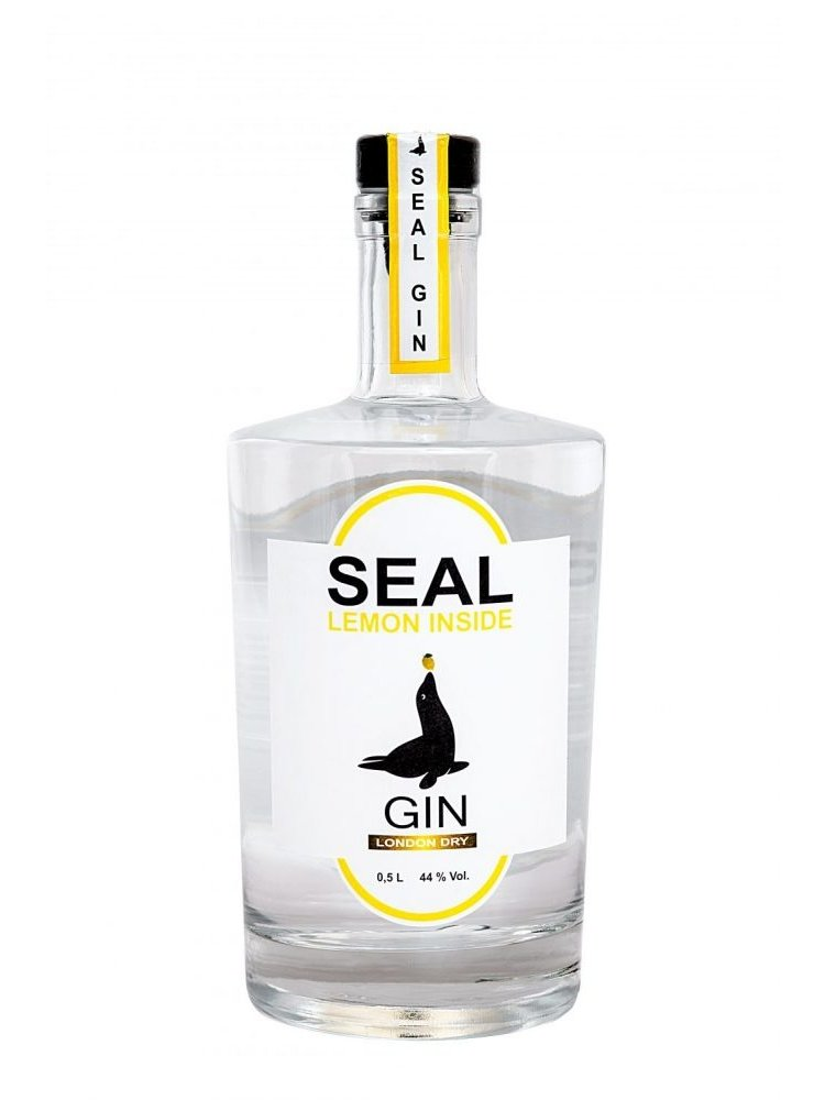Seal Gin Lemon Inside 44 %