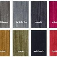 Nieuwe kleurenkaart Cosy Cotton sjaals Spring/Summer 2018