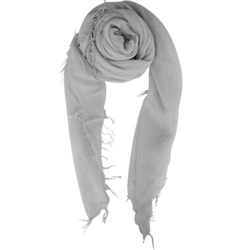 sjaal SjaalMania Cashmy Silver Grey