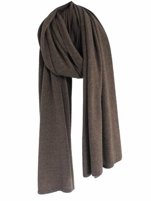 Sjaal SjaalMania Cosy Chic Brown Taupe Melee